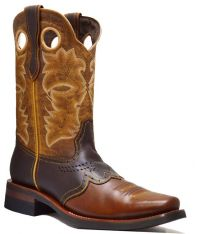 MEN'S 845-W PULL UP RODEO FRENCH TOE (Denver Colors: BWN/BWN/ORYX, Denver Sizes: 6.0 EE)