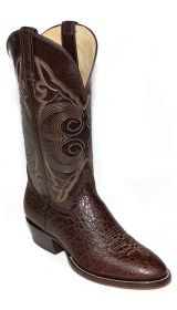 Hand Made Bullhide Western Boots 8555 (Hondo Sizes: 7.0, Hondo Widths: D - Width, Hondo Color: Chocolate)