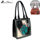 MW878G-8559 Montana West Cactus Collection Concealed Carry Tote Bag