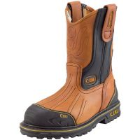 "CEBU Men's Atk Bordo Steel-Toe 12"" Work Boot (Steel Toe) (Cebu Color: HONEY, Cebu Size: 6.0)"
