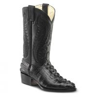 BA-51105 - Bonanza Exotic Boots (Blk Str / Bonanza - Colors: Black, Bonanza  Sizes: 6.0)