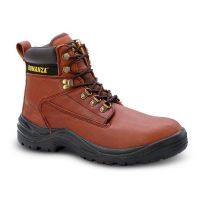 BAT-618 - Bonanza Work Boots with Steel Toe (Bonanza Color: Brown/Red, Bonanza Boot Sizes: 6.0)