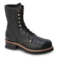 "BAT-901 Bonanza 9"" Logger Work Boots with Steel Toe by Bonanza Boots (Bonanza Color: Black, Bonanza  Sizes: 5.0)"