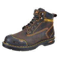 "CEBU Men's Borceshark 6"" Work Boot (non-steel toe) (Cebu Color: BROWN, Cebu Size: 6.0)"