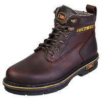 "CEBU Men's BMX 6"" Work Boot (Cebu Color: BROWN Non-S-Toe, Cebu Size: 5)"