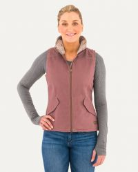 GIRL TOUGH CANVAS VEST (Close Out*) (Noble Colors: Taupe Rose, Noble Sizes: X-Small)
