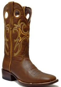 LADIES 835  RODEO CRAZY WIDE SQ TOE (Denver Colors: ORYX, Denver Sizes: 5 B)