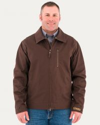 Ranch Tough Canvas Jacket (Noble Colors: Dark Chocolate, Noble Sizes: Small)