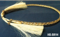 Horse Hair Hat Bands from Atwood Hats (Horse Hair Hat Bands: HB-BR14)