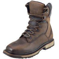 CEBU Men's TORO TRC1 Steel Toe Leather Work Boot (Cebu Color: BROWN, Cebu Size: 6.0)