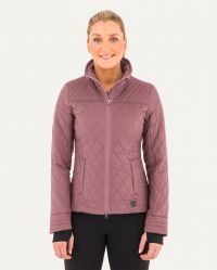 WARMUP QUILTED JACKET (Close Out*) (Noble Colors: Rose Taupe, Noble Sizes: X-Small)
