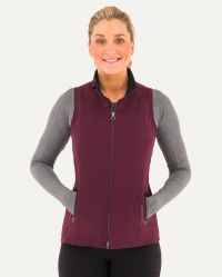 WOMEN'S ALL AROUND VEST(Close Out*) (Noble Colors: Wine, Noble Sizes: X-Small)