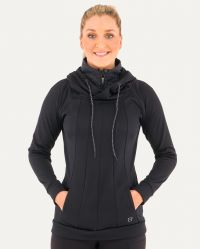 Women's Warmwear Quarter Zip Hoodie(Close Out*) (Noble Colors: Black, Noble Sizes: X-Small)